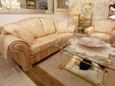Sofa und Sessel Clara